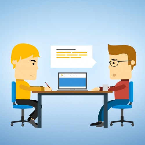 SCAB – Personeel & Salaris – Animated Infographics